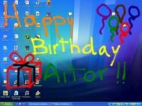 Happy Birthday Aitor!! (by UPTODOWN)